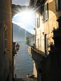 Italian lake Como Stock Photography
