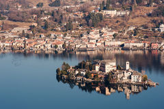 Italian Lake District Royalty Free Stock Images