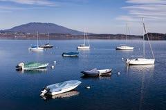 Italian lake district landscape Royalty Free Stock Image