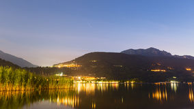 Italian Lake - Summer Evening Royalty Free Stock Photos