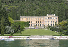 Italian landhouse. Landhouse at the borders of the Garda Lake Royalty Free Stock Photography