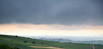 Italian landscape. Stock Images