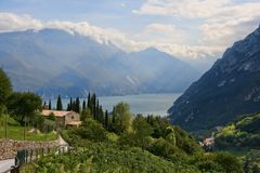 Italian landscape Royalty Free Stock Images