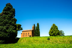 Italian landscape Brianza Lombardy Stock Images