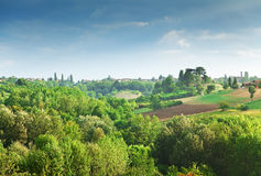 Italian landscape Royalty Free Stock Images