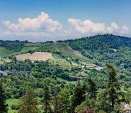 Italian landscape in Tuscany Stock Photo