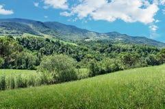 Italian landscape in Tuscany Royalty Free Stock Image