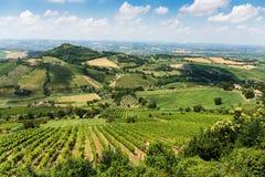 Italian landscape in Tuscany Stock Images