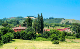 Italian landscape. Royalty Free Stock Images