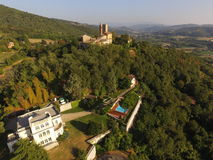 Italian landscape. A view of a beautiful italian landscape Stock Photo