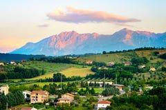 Italian landscape Royalty Free Stock Photo