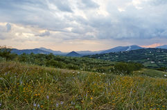 Italian Landscapes Campania Stock Photography