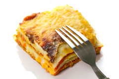 Italian lasagna Stock Photos