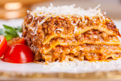 Italian lasagna Stock Image