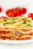 Italian lasagna. Royalty Free Stock Photography
