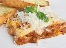 Italian Lasagna Pasta Meal Royalty Free Stock Photos
