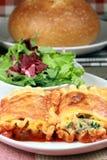 Italian lasagna rolls Royalty Free Stock Images