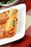 Italian lasagna rolls Stock Images