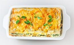 Italian lasagna Stock Images