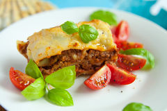 Italian lasagna Royalty Free Stock Photography