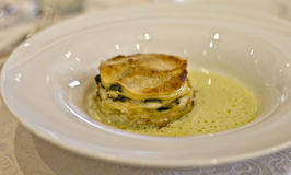 Italian lasagne Stock Image