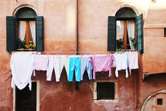 Italian laundry Royalty Free Stock Images