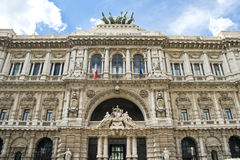 Italian law court Royalty Free Stock Image