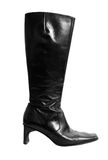 Italian leather boot Royalty Free Stock Images