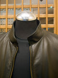 Italian Leather Jacket Stock Photos