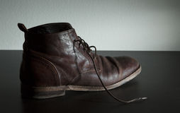 Italian Leather Shoe Stock Images