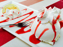 Italian lemon cake Royalty Free Stock Images