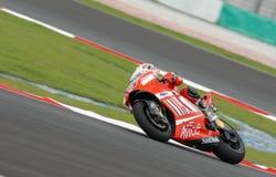 Italian Loris Capirossi Ducati Marlboro 2007 Polin Royalty Free Stock Image