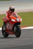 Italian Loris Capirossi Ducati Marlboro 2007 Polin Stock Photography