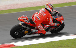 Italian Loris Capirossi Ducati Marlboro 2007 Polin Royalty Free Stock Photography