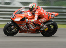 Italian Loris Capirossi Ducati Marlboro 2007 Polin Royalty Free Stock Photo