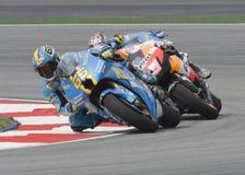 Italian Loris Capirossi of Rizla Suzuki Motogp royalty free stock images