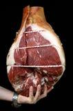Italian lunch meat prosciutto Stock Image