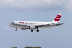 Italian A320. Stock Image
