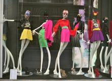 Italian luxury fashion shop in Florence Royalty Free Stock Photos