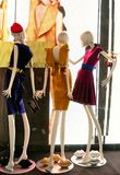 Italian luxury fashion shop in Florence Stock Photography