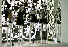 Italian luxury fashion shop in Florence Royalty Free Stock Photo