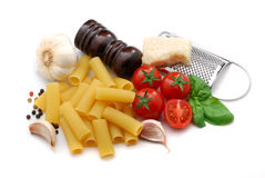 Italian macaroni Royalty Free Stock Photo
