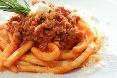 Italian maccheroni Stock Images