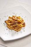 Italian maccheroni Stock Photography