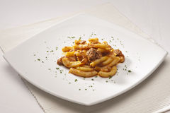 Italian maccheroni Royalty Free Stock Images