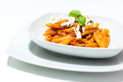 Italian maccheroni Royalty Free Stock Image