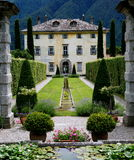Italian Mansion. An Italian mansion near Lake Como, Italy Stock Photography