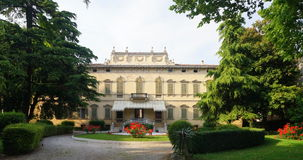 Italian Mansion Royalty Free Stock Photos