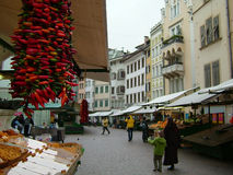 Italian market Royalty Free Stock Photos