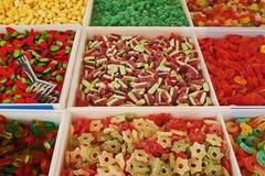 Italian market. Sweets at an italian market Stock Image
